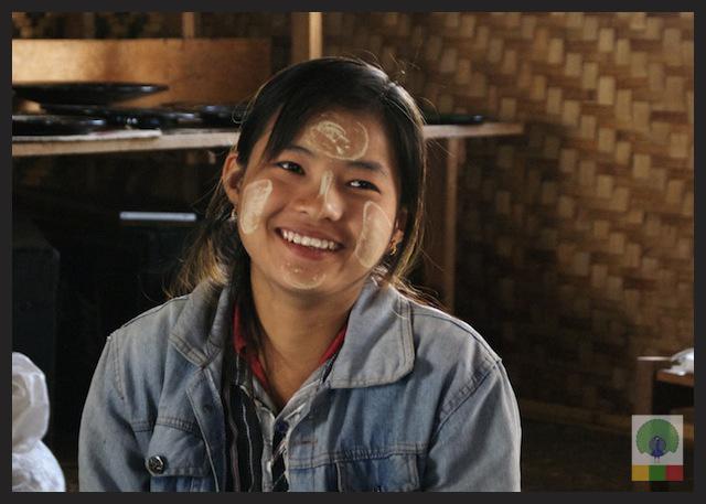 Thanaka - burmese make-up Myanmar (Burma)
