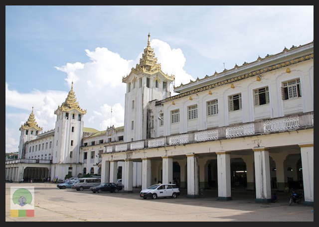 Circle Line Train Station- Yangon - Myanmar (Burma) 6