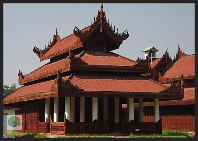 Royal Palace - Mandalay - Myanmar (Burma)