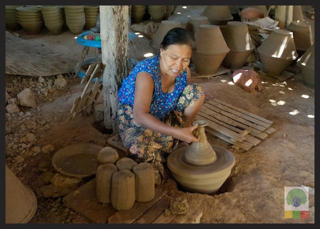 Pottery Workshop in Twante - near Yangon 7