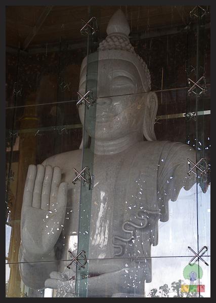 Kyauk Daw Kyi Pagoda - Marble Buddha - Insein Township - Yangon - Myanmar (Burma) 6