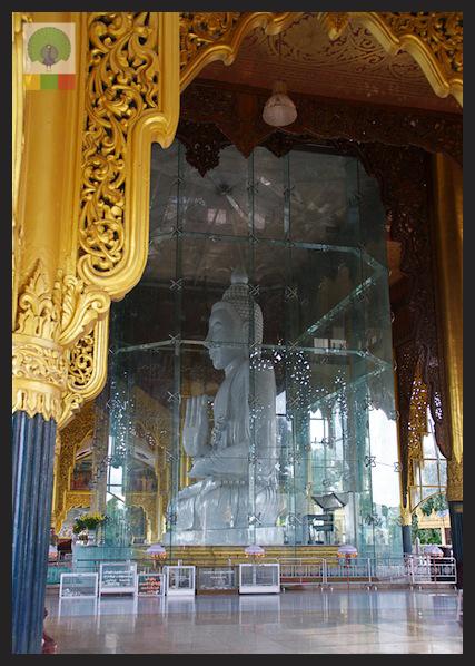 Kyauk Daw Kyi Pagoda - Marble Buddha - Insein Township - Yangon - Myanmar (Burma)