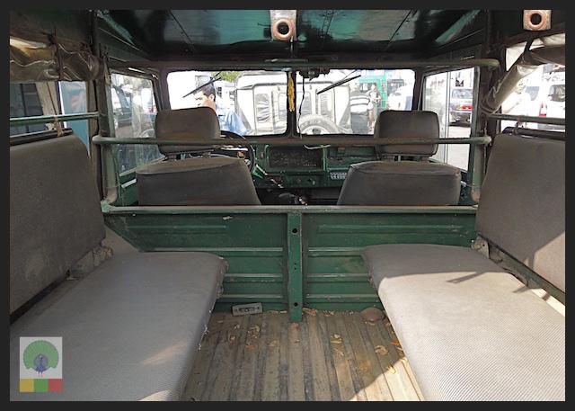 Mazda Pathfinder Station Wagon XV-1 SW 4x4 Myanmar (Burma) Military Mazda Jeep 2