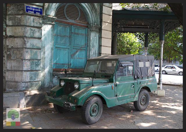 Mazda Pathfinder Station Wagon XV-1 SW 4x4 Myanmar (Burma) Military Mazda Jeep 3