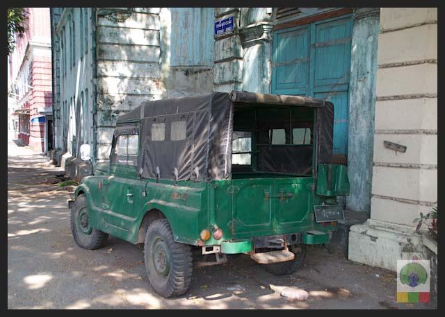 Mazda Pathfinder Station Wagon XV-1 SW 4x4 Myanmar (Burma) Military Mazda Jeep 4