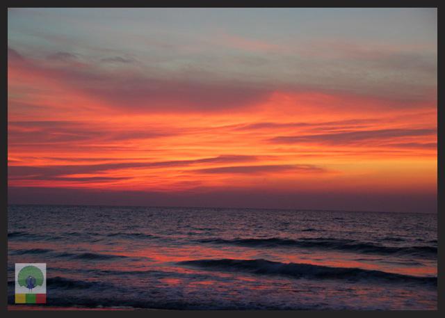 Ngwe Saung Beach Sunset - Myanmar (Burma) 8