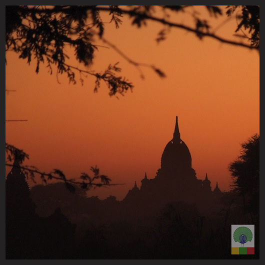 Bagan Temples by night - Myanmar (Burma)