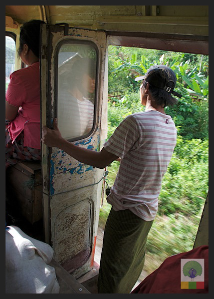 Local Bus Trip from Ngwe Saung Beach to Pathein - Myanmar (Burma) 5