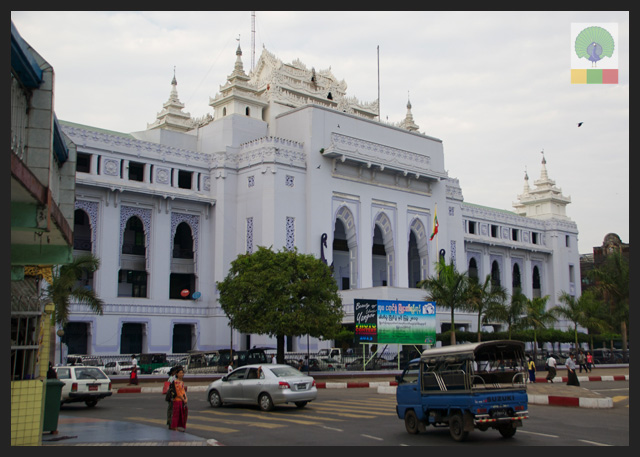 City Hall view from Sule Paya - Yangon - Myanmar (Burma)