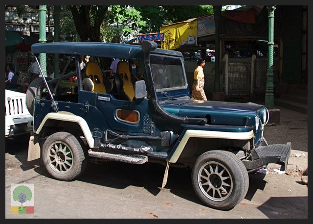 4x4 Jeep Car - Myanmar (Burma) 4