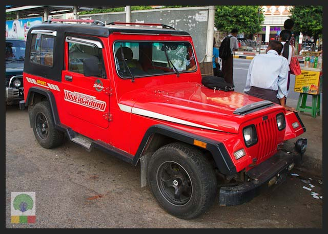 4x4 Jeep Car - Myanmar (Burma) 5