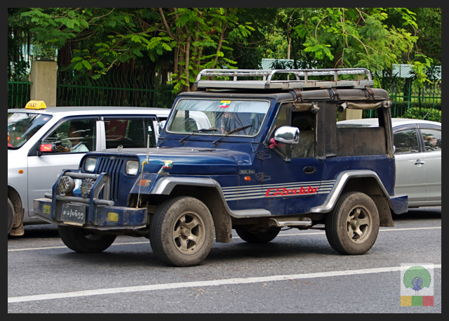 4x4 Jeep Car - Myanmar (Burma) 6