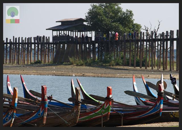 U Bein Teak Bridge - Amarapura - Mandalay - Myanmar (Burma)4