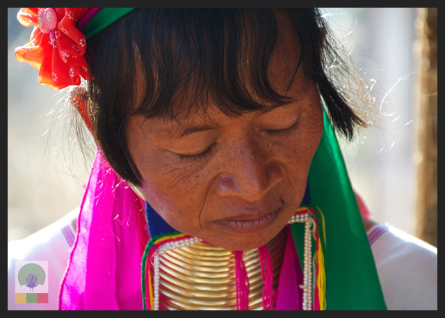 Padaung Ethnic Group Woman - near Loikaw - Kayah State - Myanmar Travel Essentials