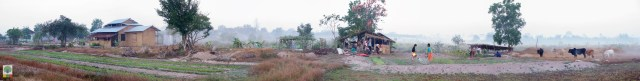 NEED Eco-village Foundation - Eco-farming school - Myanmar Travel Essentials - Panoramic