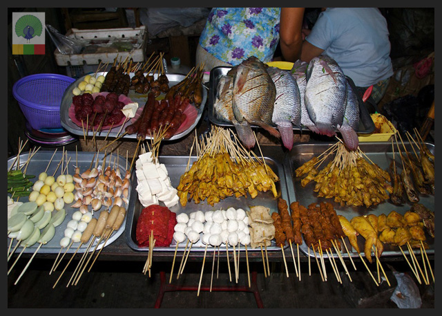 19 street barbecue - Delicious Myanmar 2