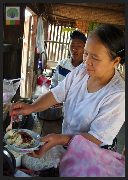 Shan noodles - Delicious Myanmar 2