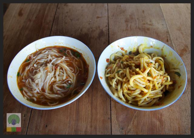 Shan noodles - Delicious Myanmar