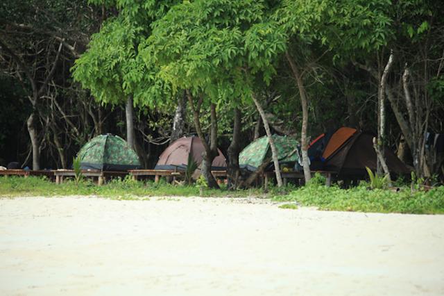 Camp - Myeik - Mergui Archipelago - Myanmar Travel Essentials