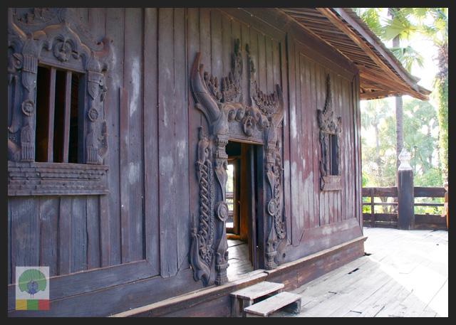 Inwa Teak Monastery - Mandalay - Myanmar Travel Essentials