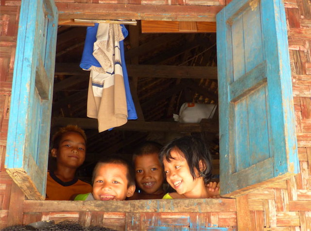 village kids - dawei - myanmar travel essentials