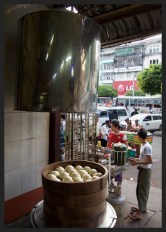 Street Snack Tour - Bun - Myanmar Travel Essentials