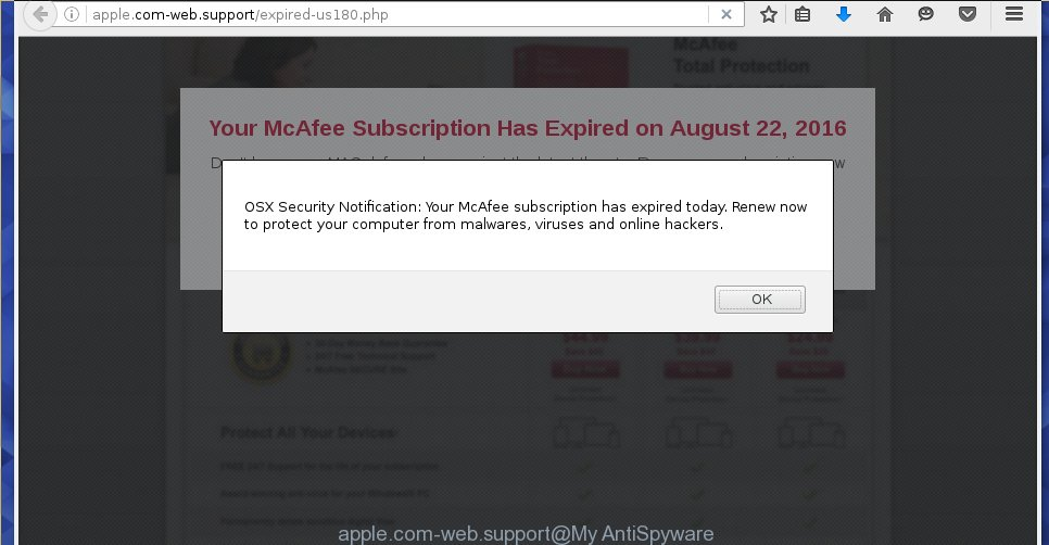 Remove apple com web support pop up  Instructions  apple com web support