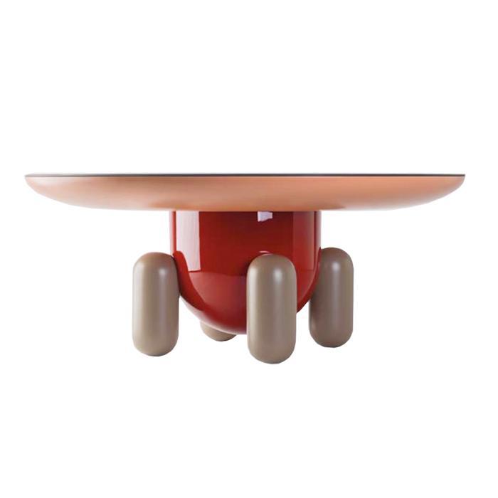 bd barcelona design table basse explorer 3 multicolor version 1 bois verre et fibre de verre