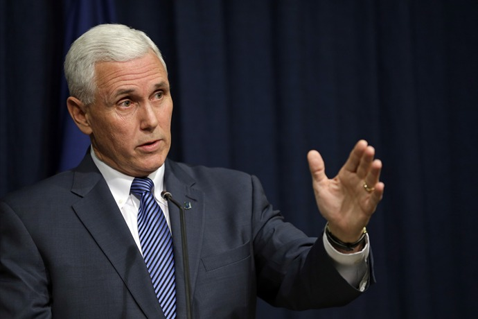 Indiana Gov. Mike Pence_-3612992298953850294