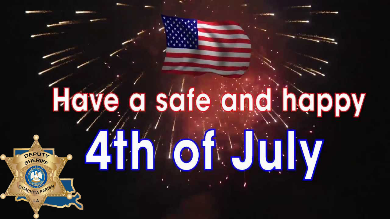 Ouachita Parish Sheriff's Office offers fireworks safety tips