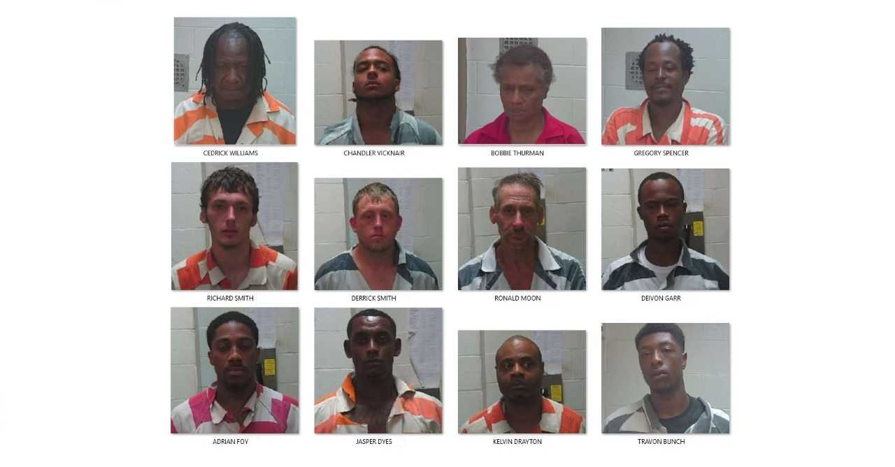 Illegal drug round up yields 100 arrest warrants for over 30