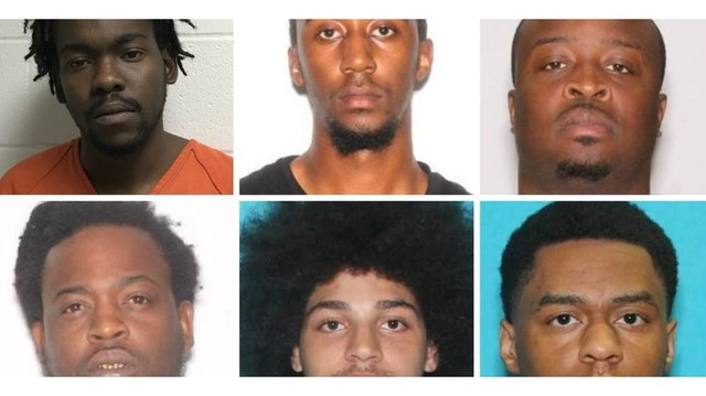 Several out-of-state suspects accused of vehicle burglaries