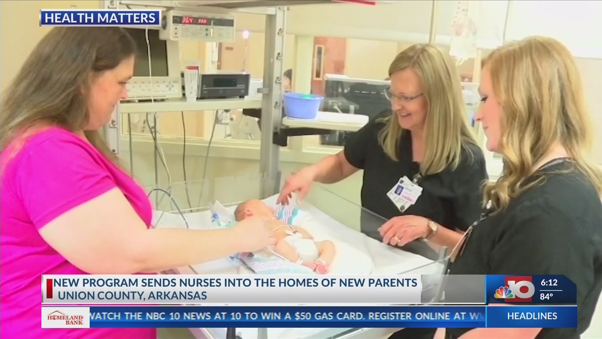 New hospital program will offer nurse home visits to parents of newborn babies