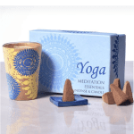Cone & Votive Gift Set Yoga