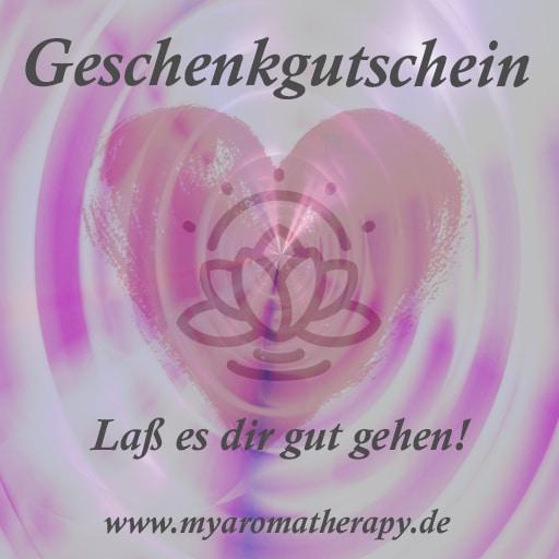 myaromatherapy Geschenkgutschein