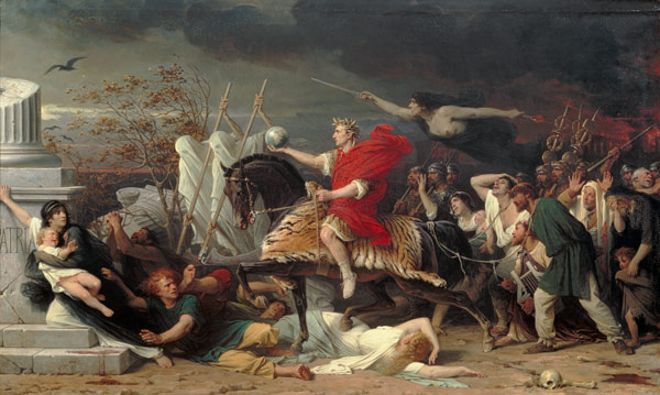Image result for Caesar by Adolphe Yvon