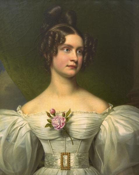 Joseph Karl Stieler - Mathilde von Hessen