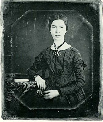 Emily Dickinson, black and white photograph
