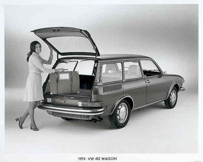 VW 1974 412 Wagon