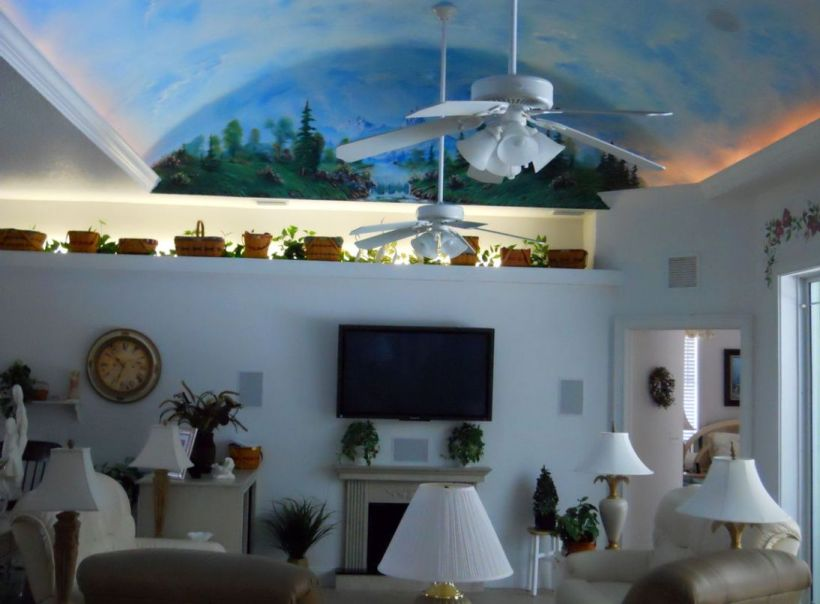 Captivating Vaulted Ceiling Decorating Ideas Gallery Best Idea