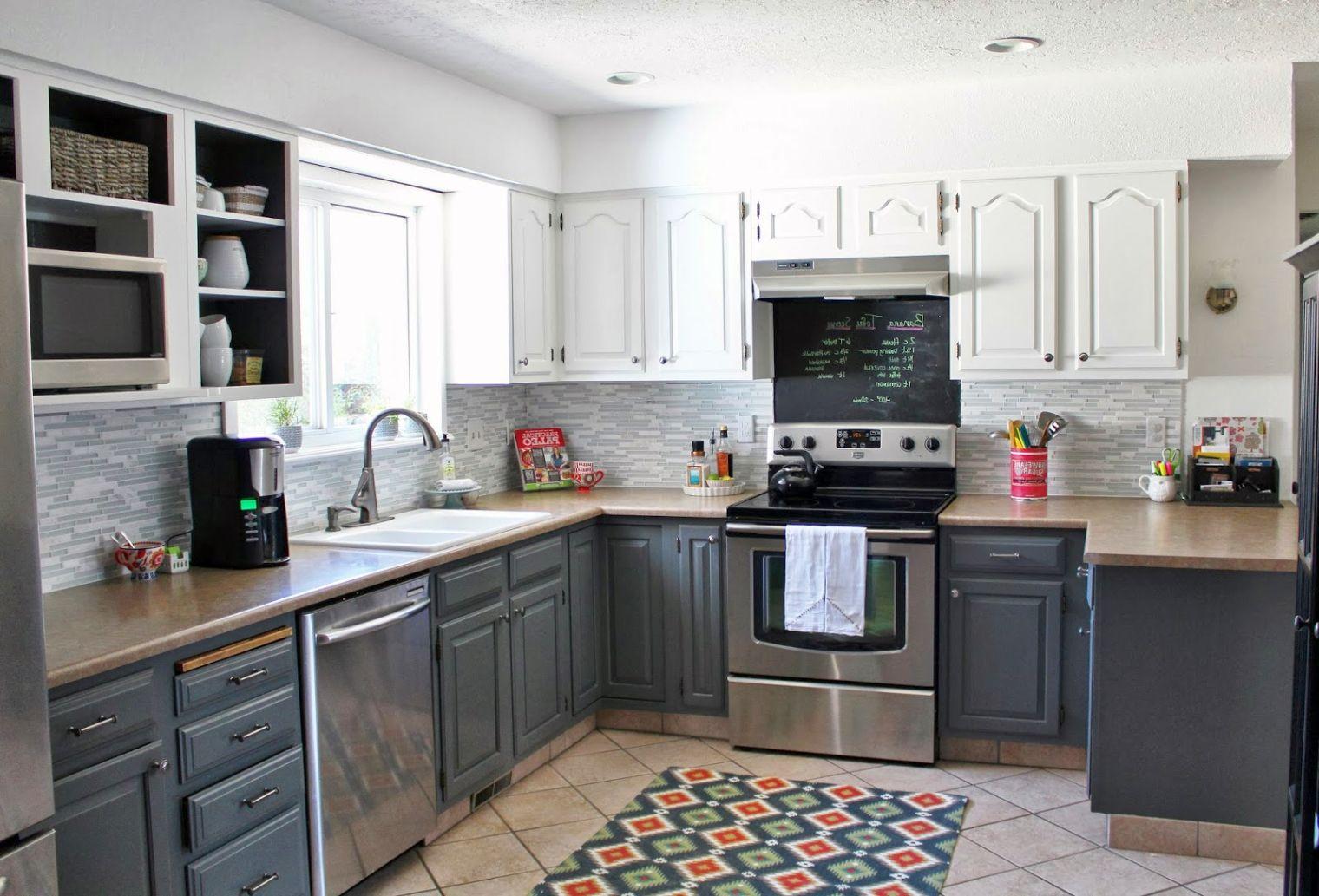 Grey Wood Kitchen Cabinets Best Kitchen Gallery | Rachelxblog grey ...