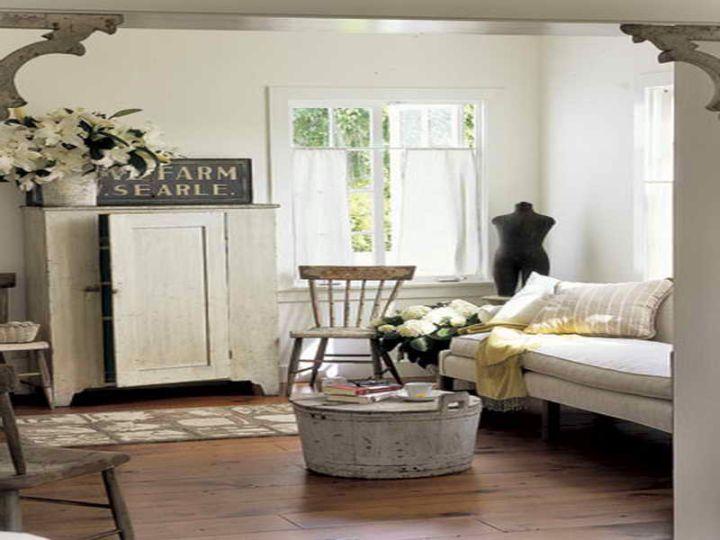 rustic colorful vintage living room ideas | 20 Inviting Vintage Living Room Ideas