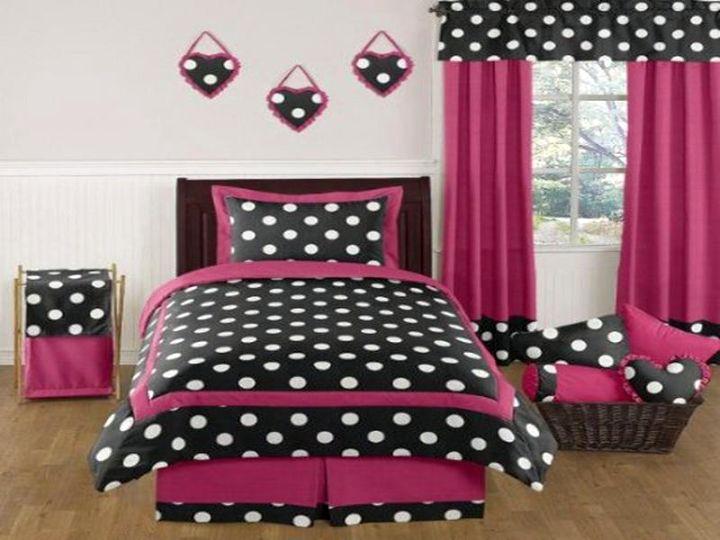 Black White And Pink Bedroom Decorating Ideas memsahebnet