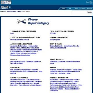 Free auto repair manuals