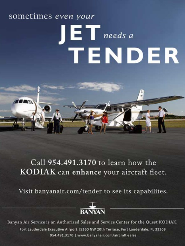 Banyan air services quest kodiak