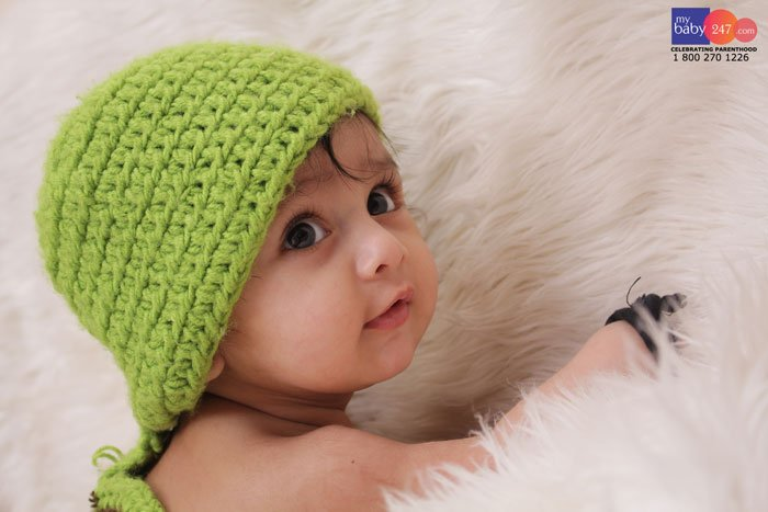Baby Photography in Delhi : Session with 5 Month Boy