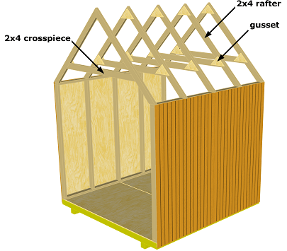 Shed Roof Truss Plans