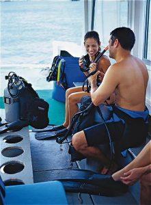Scuba Diving, Atlantis, Bahamas