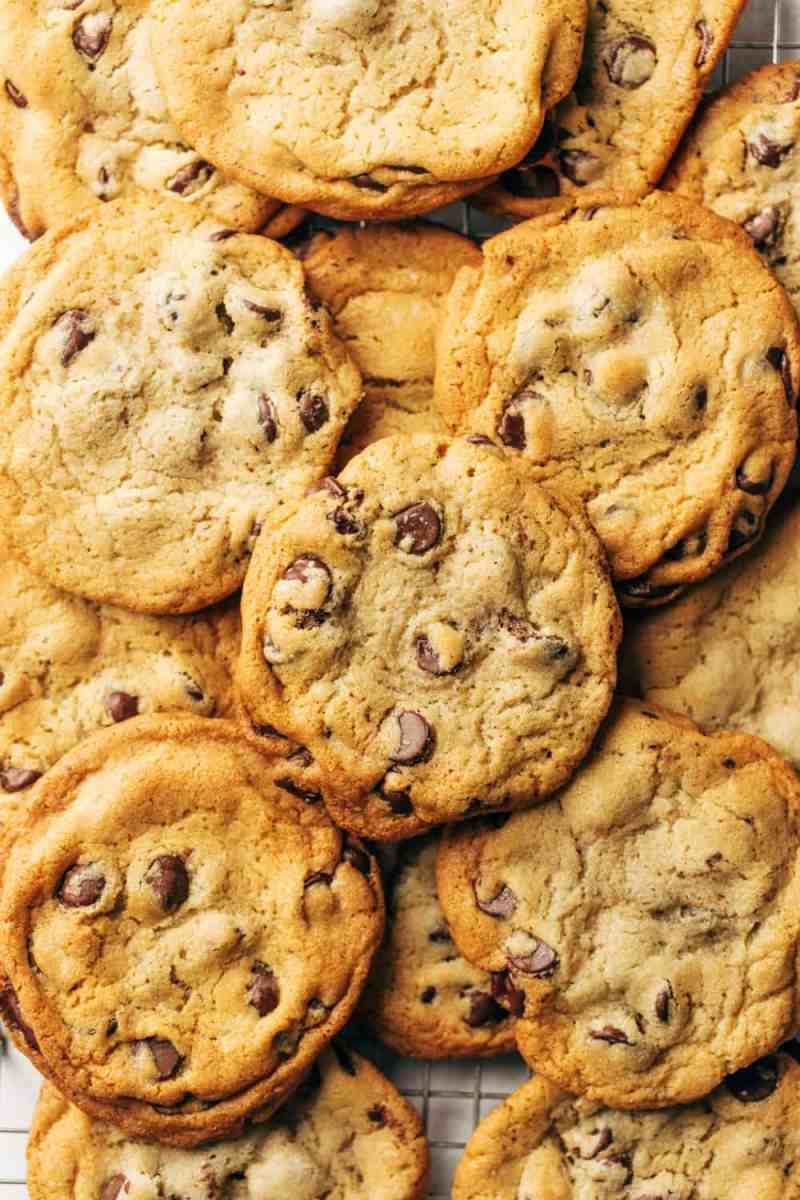 My favorite chocolate chip cookies are big, dense, chocolatey and chewy. This New York Times chocolate chip cookie recipe is truly the best – I am yet to try a better cookie!