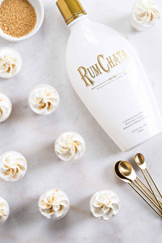 Rumchata Cheesecake Pudding Shots My Baking Addiction